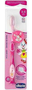 Escova De Dentes (3-6 Anos) Rosa - Chicco