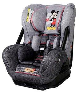 Cadeira Para Auto Disney Eris Denim - Mickey Mouse - Teamtex