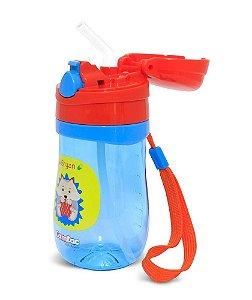 Copo Plástico Com Tampa Pop-up Lets Go - Porco Espinho - Comtac Kids