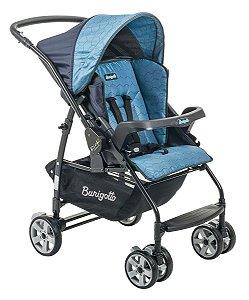 Carrinho De Bebê Passeio Rio K - Geo Azul - Burigotto