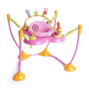Jumper e Centro de Atividades Play Time (+6M) - Rosa - Safety 1St
