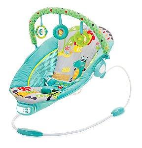 Cadeira de Descanso Musical Vibratória 11,5kg Azul- Mastela