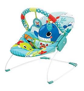 Cadeira de Descanso Musical Vibratória Mar Azul - Mastela