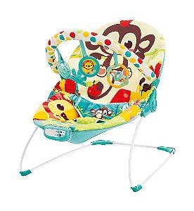 Cadeira de Descanso Musical Vibratória 9kg Macaco - Mastela