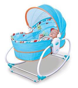 Cadeira Moises e Descanso 5 em 1 Mar Azul - Mastela