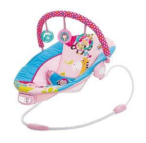 Cadeira de Descanso Musical Vibratória 11,5kg Pink - Mastela