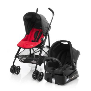 Carrinho De Bebê Travel System Trend TS - Safety 1st Red