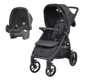 Carrinho de Bebê Travel System Booklet 50 (até 15 kg) - Onix - Peg-Pérego