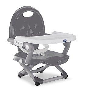 Cadeira de Alimentação Pocket Snack Portátil (até 15 kg) - Grey - Chicco