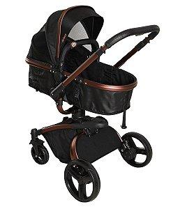 Carrinho de Bebê Travel System Vulkan 360º (até 15 kg) - Preto - Dzieco