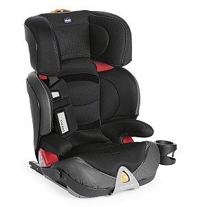 Cadeira para Auto Oasys 2-3 FixPlus - Evo Jet Black - Chicco