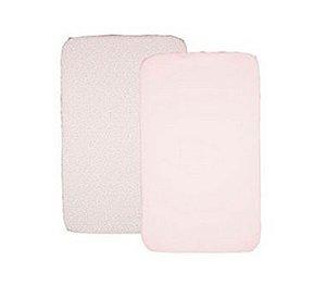 Conjunto de Lençóis para Berço Next2me - Miss Pink - Chicco