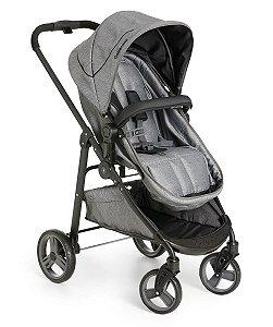 Carrinho de Bebê Travel System Olympus (até 15 kg) - Grafite - Galzerano