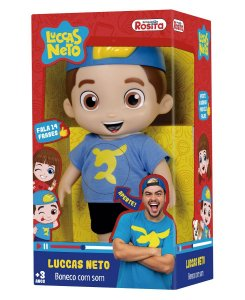 Boneco Luccas Neto Oficial - Brinquedos Rosita