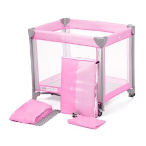 Berço Portátil Mini Play Pop Pink - Safety 1st
