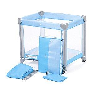 Berço Portátil Mini Play Pop (até 15 kg) - Blue -Safety 1st