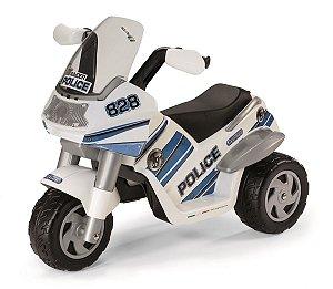 Moto Elétrica Raider Police 6 volts - Peg-Pérego