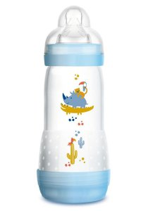 Mamadeira Easy Start 320 ml (4 + meses) Azul - MAM