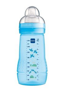 Mamadeira Easy Active 270ml (2 + Meses) Azul - MAM