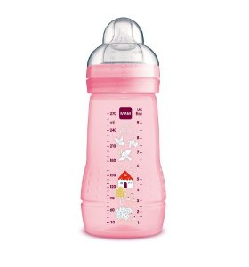 Mamadeira Easy Active 270ml (+2M) - Rosa - MAM
