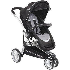 Carrinho de Bebê Compass II (até 15 kg) - Preto - Kiddo