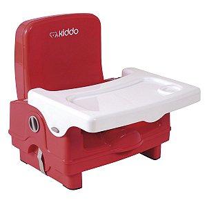 Assento Elevatório para Alimentação Sweet (até 15 kg) - Vermelho - Kiddo