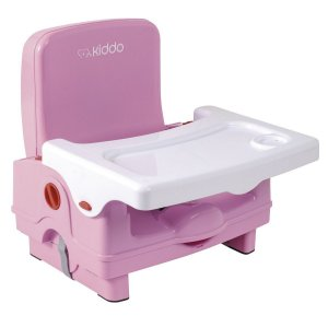 Assento Elevatório para Alimentação Sweet (até 15 kg) - Rosa - Kiddo