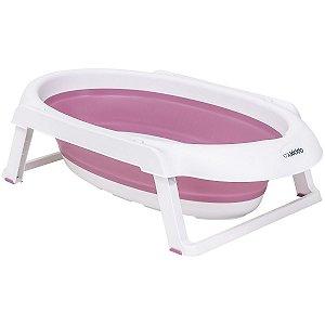 Banheira Portátil Jelly (até 30 kg) - Rosa - Kiddo