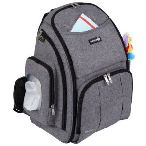 Mochila Multifuncional Back Pack - Grey - Safety 1st