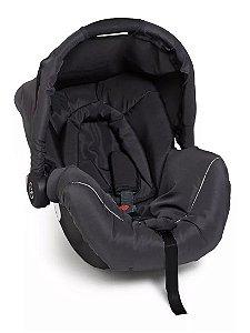 Cadeira Para Bebê Piccolina Preto Preto Cinza - Galzerano
