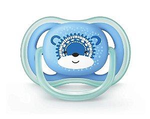 Chupeta Ultra Air Tam.2 (+6M) - Urso Azul - Philips Avent