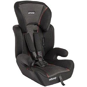 Cadeira Para Auto Quest - Preto Cinza - Whoop Kiddo