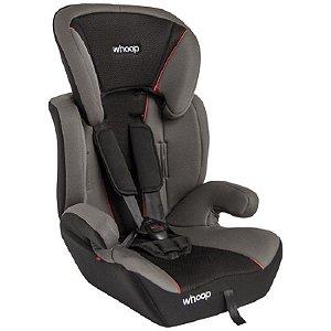 Cadeira Para Auto Quest - Cinza e Preto - Whoop Kiddo