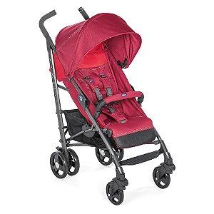 Carrinho De Bebê Lite Way 3 Basic - Chicco - Red Berry
