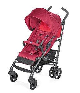Carrinho de Bebê Lite Way 3 Basic (até 15 kg) - Red Berry - Chicco