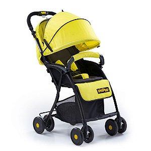Carrinho de Bebê Easy! - Amarelo - Kangalup