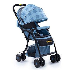 Carrinho de Bebê Easy! - Azul - Kangalup