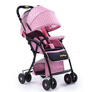 Carrinho de Bebê Easy! - Rosa - Kangalup