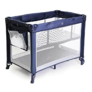 Berço Mini Play (até 15 kg) - Net Blue - Safety 1st