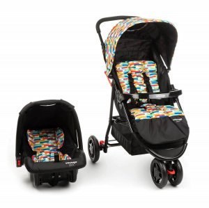 Carrinho de Bebê Travel System Delta (até 15 kg) - Colorê - Voyage