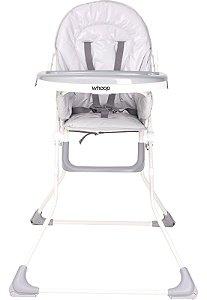 Cadeira de Alimentação Vectra - Cinza - Kiddo