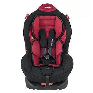 Cadeira para Auto Max Plus Preto e Vermelho - Kiddo