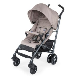 Carrinho De Bebê Lite Way 3 Basic - Chicco - Dark Beige