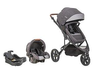 Conjunto Travel System Trek c/ Bebê conforto e Base - Kiddo