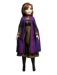 Boneca Disney Anna 80cm - Frozen 2 - Baby Brink