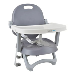 Cadeira de Alimentação Sushi (até 15 kg) - Cinza - Burigotto