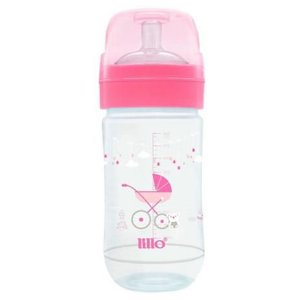 Mamadeira Super Evolution 300ml Tam.2 (+6M) - Rosa - Lillo