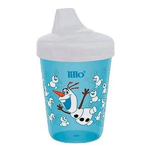 Copo Frozen Olaf 207ml (+6 meses) Anti Vazamento Azul- Lillo
