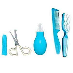 Conjunto de Higiene para Recém Nascido (+0M) - Azul - Lillo