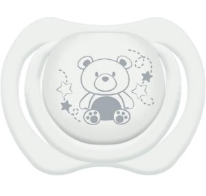 Chupeta Design Tam.2 (+6M) - Ursinho Branco - Lillo